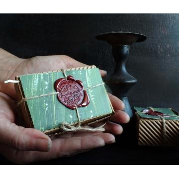 Dárková krabice s pečeti