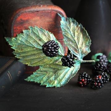 Blackberry brooch