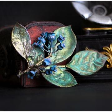 copy of Blueberry brooch