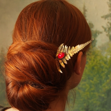 Hairpin - plated fern